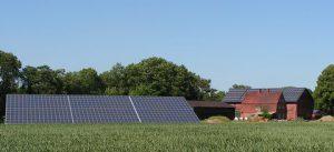 210 kWp netzeinspeisende solare Stromanlage Einbau: 2010 in Pehmen/Nehmten