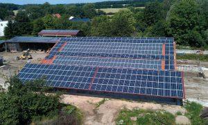 102 kWp Erweiterung der oberen Anlage Installation 2012 in Danau