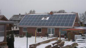 11 kWp PV Anlage Installation: 2011  in Bredenbek