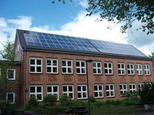 46 kWp Eigenverbrauchsanlage in der Grundschule Wankendorf Installation: 2013 in Wankendorf